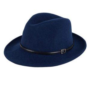 Italiaanse hoed kobalt blauw Gittha.nl