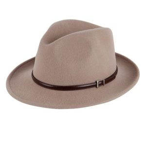 Italiaanse hoed beige
