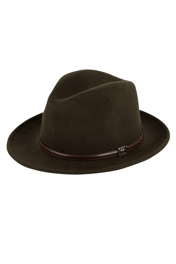 Italiaanse hoed Olijfgroen